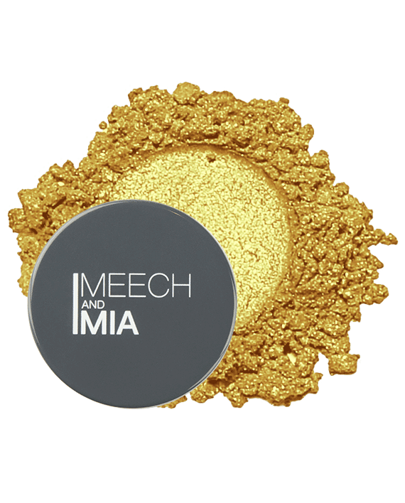 Gold Loose Eyeshadow MeechNMia